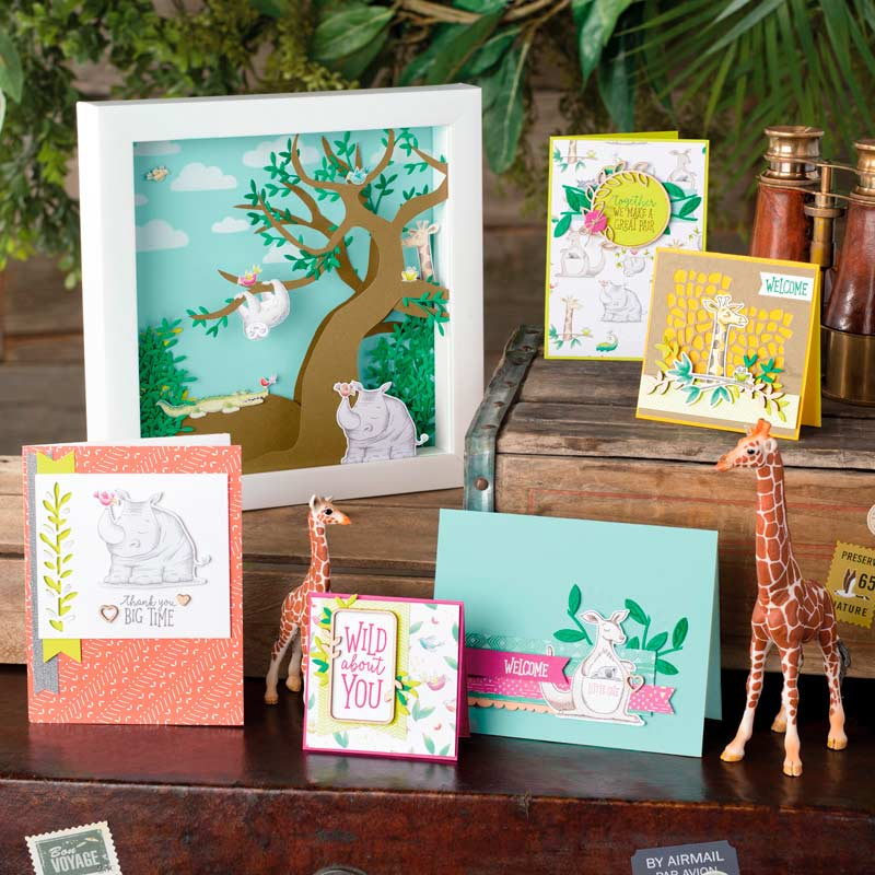 Stampin' Up! Animal Outing Spotlight & New Pink Candy Giveaway & Winner