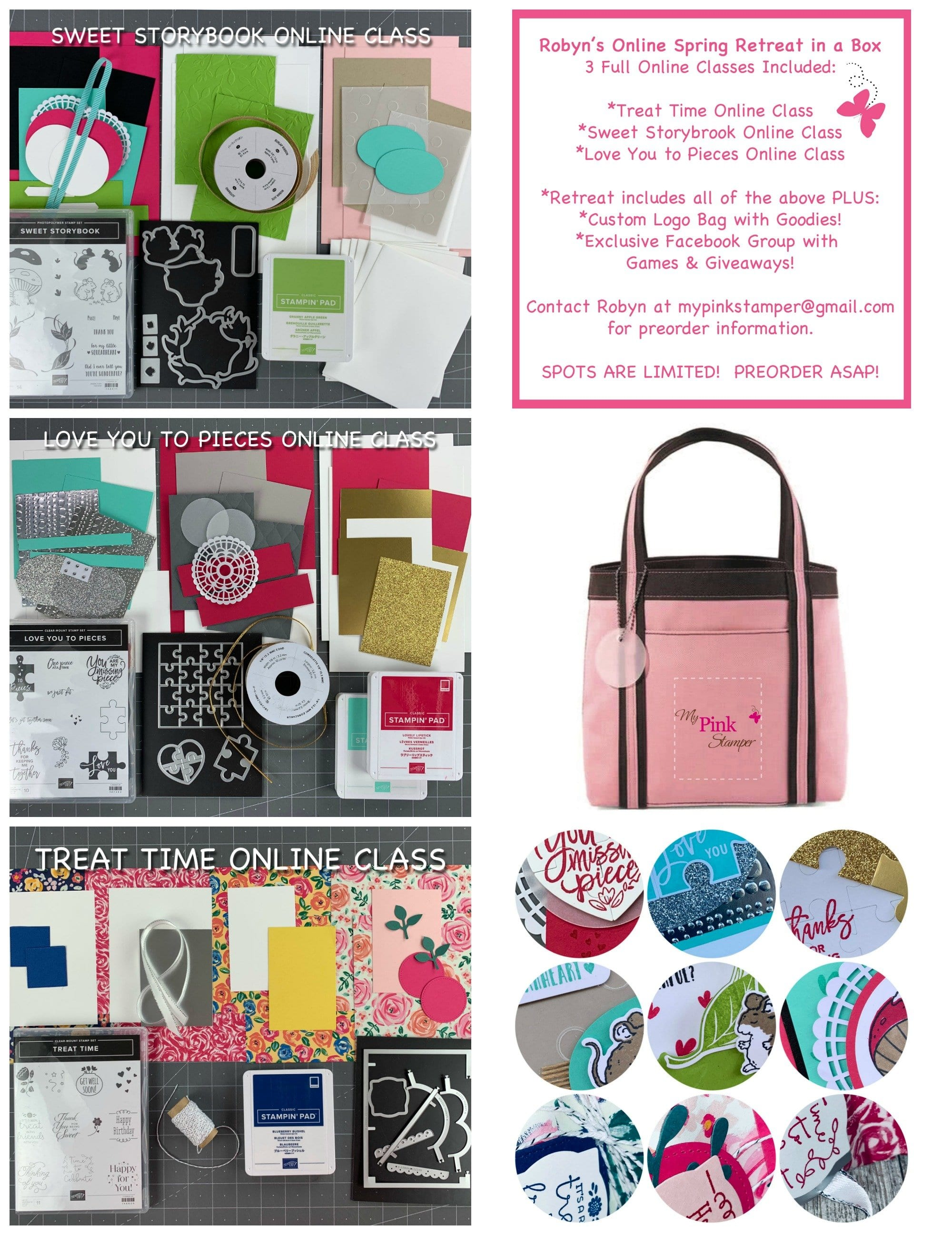 Robyn's Online Spring Retreat in a Box Preorder!
