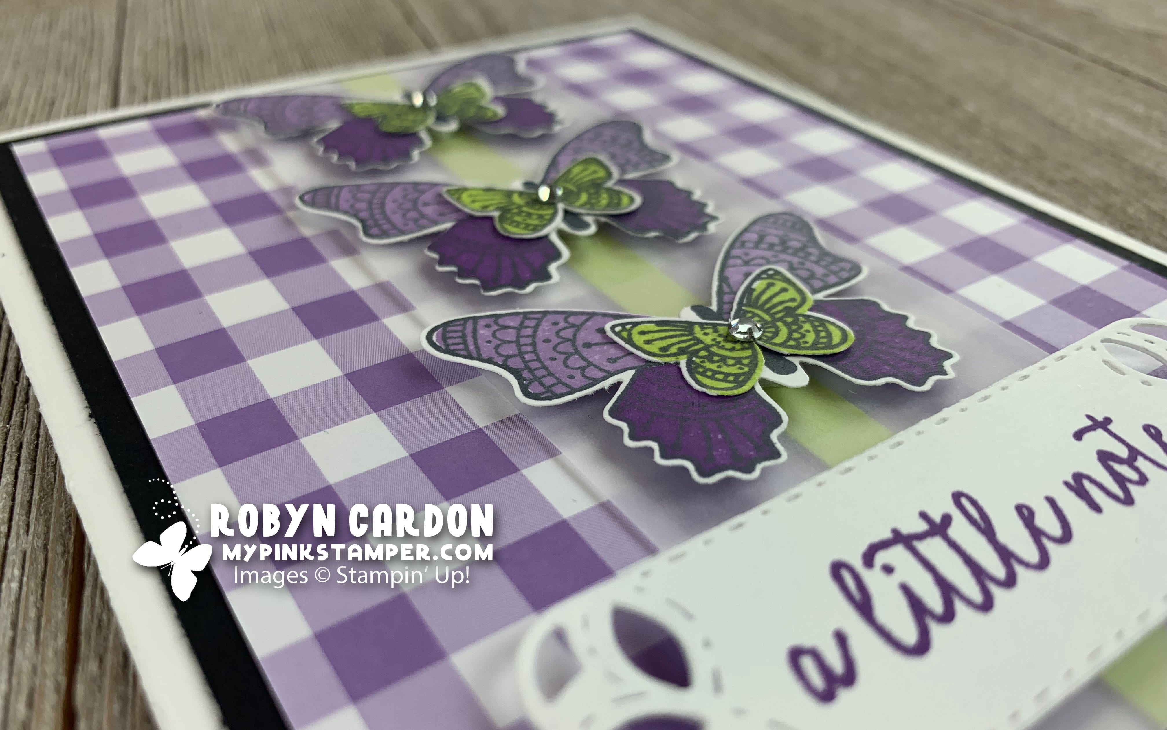 {VIDEO}Episode 689 – Stampin' Up! Butterfly Gala with Stamparatus