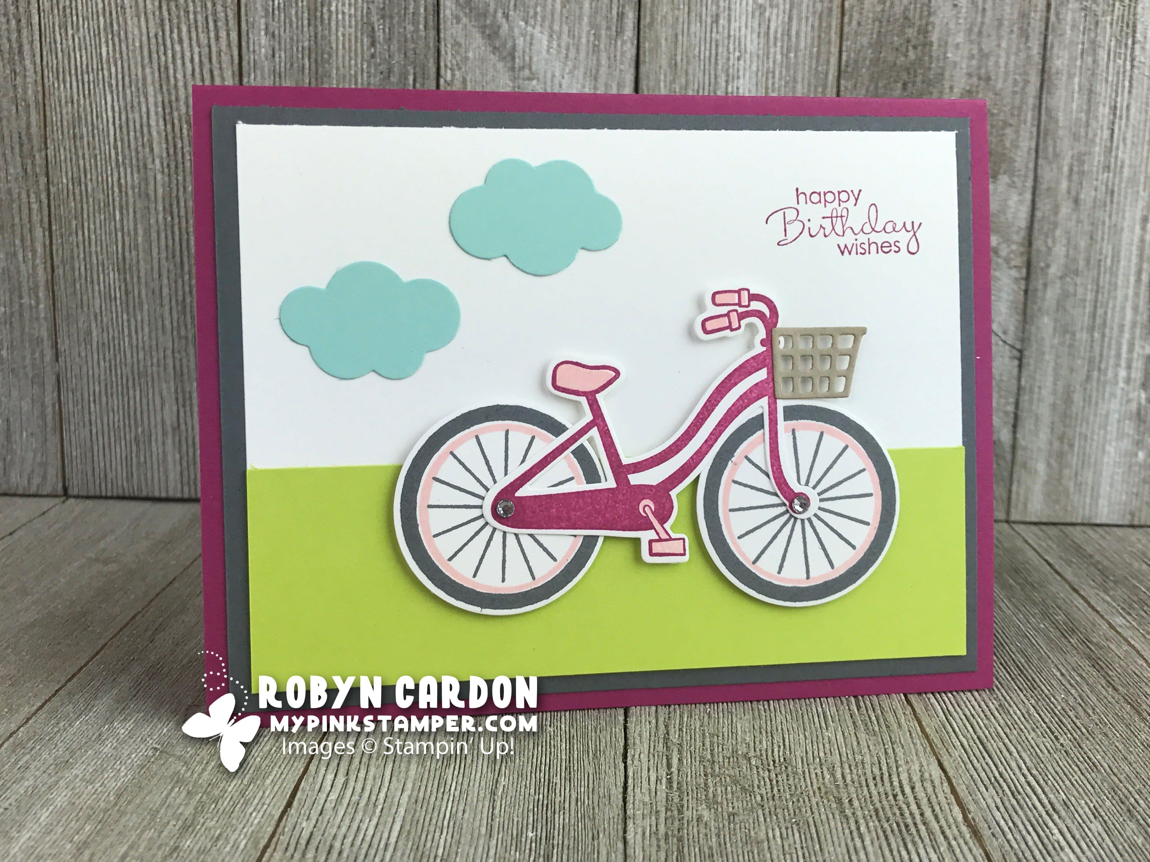 Stampin' Up! Bike Ride Stamp Set Spotlight – Week 2 of Promotion!