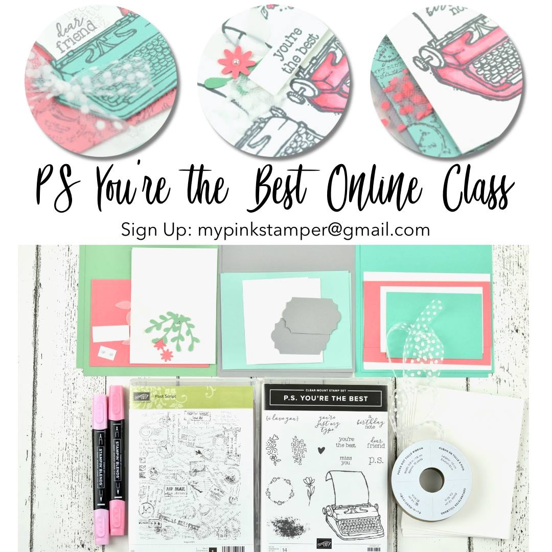 P.S. I You're the Best Online Class Preorder