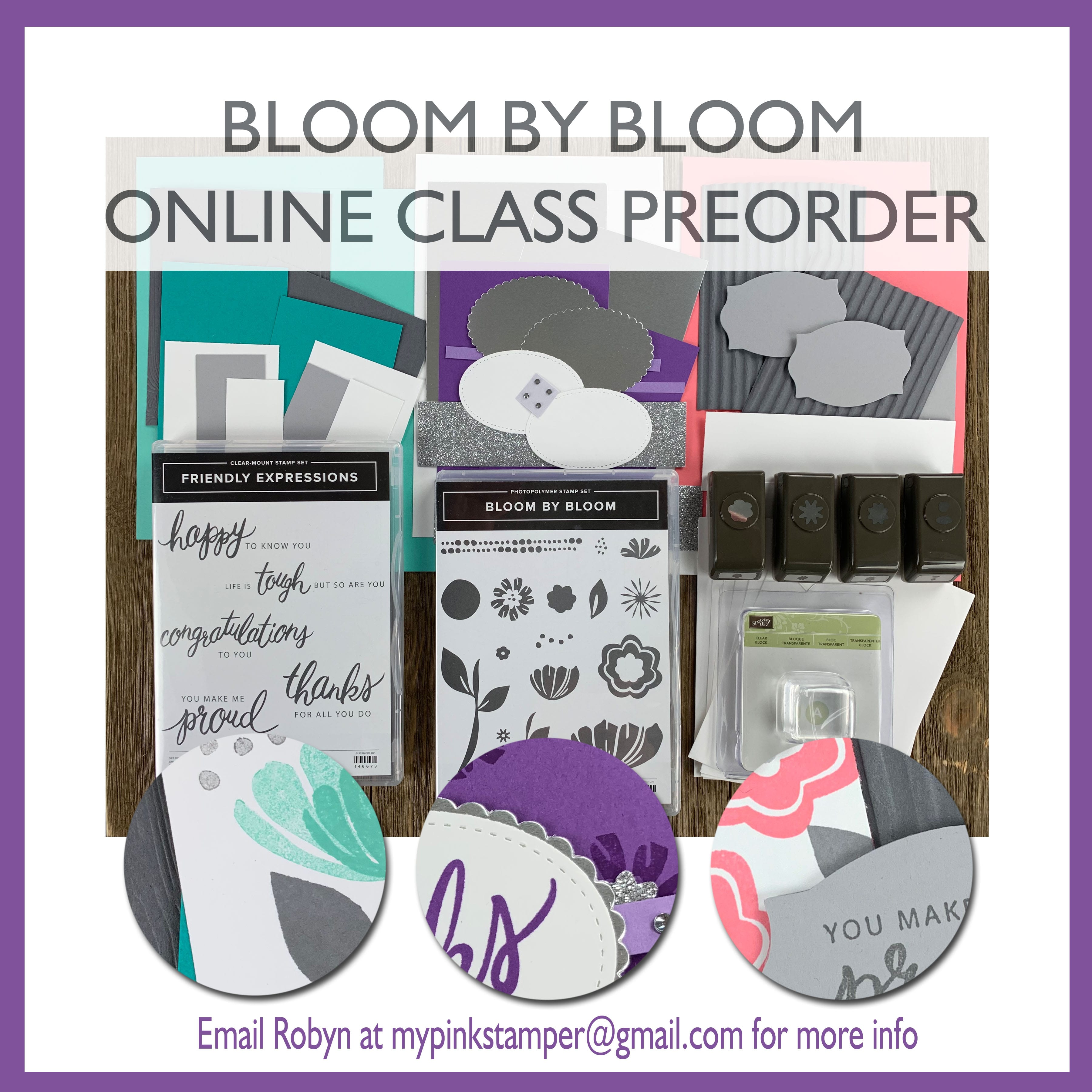 {CLASS}Stampin' Up! Bloom by Bloom Online Class Preorder