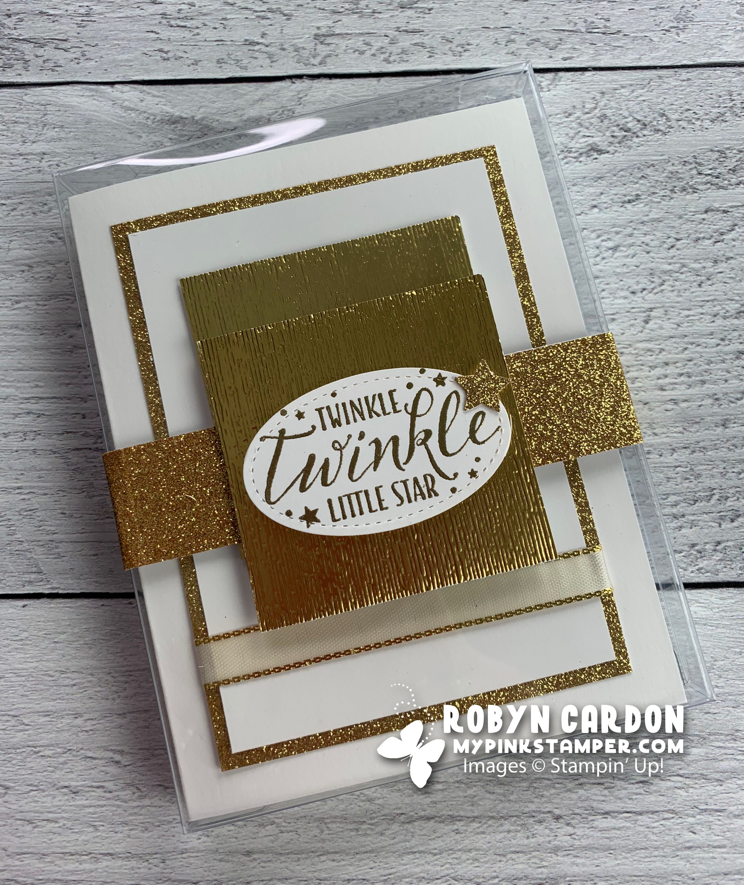 {VIDEO}Heat Embossing w/ Stampin' Up! Little Twinkle Stamp Set – Episode 707