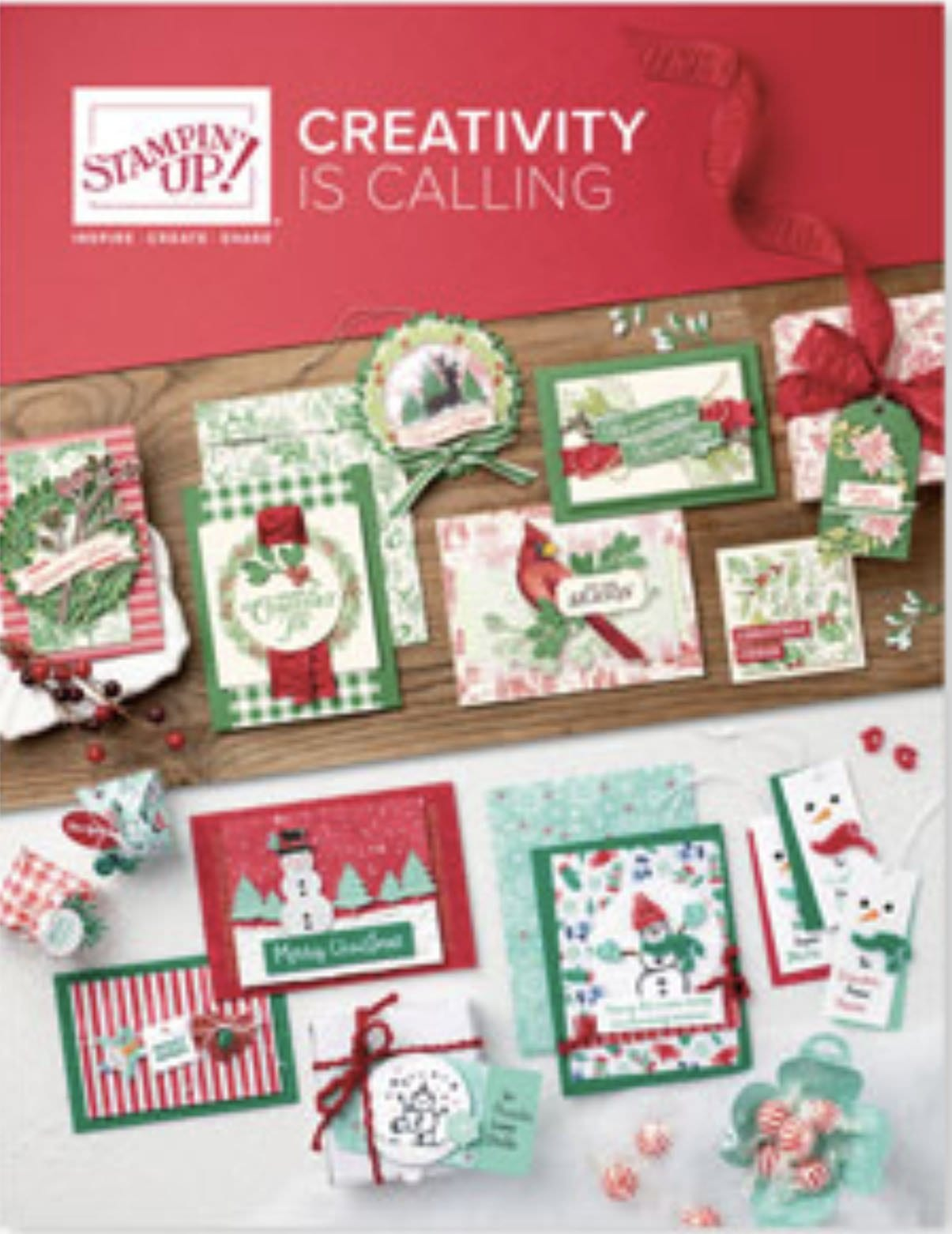 {VIDEO}2019 Stampin' Up! Holiday Catalog Walk Through – Page by Page!!