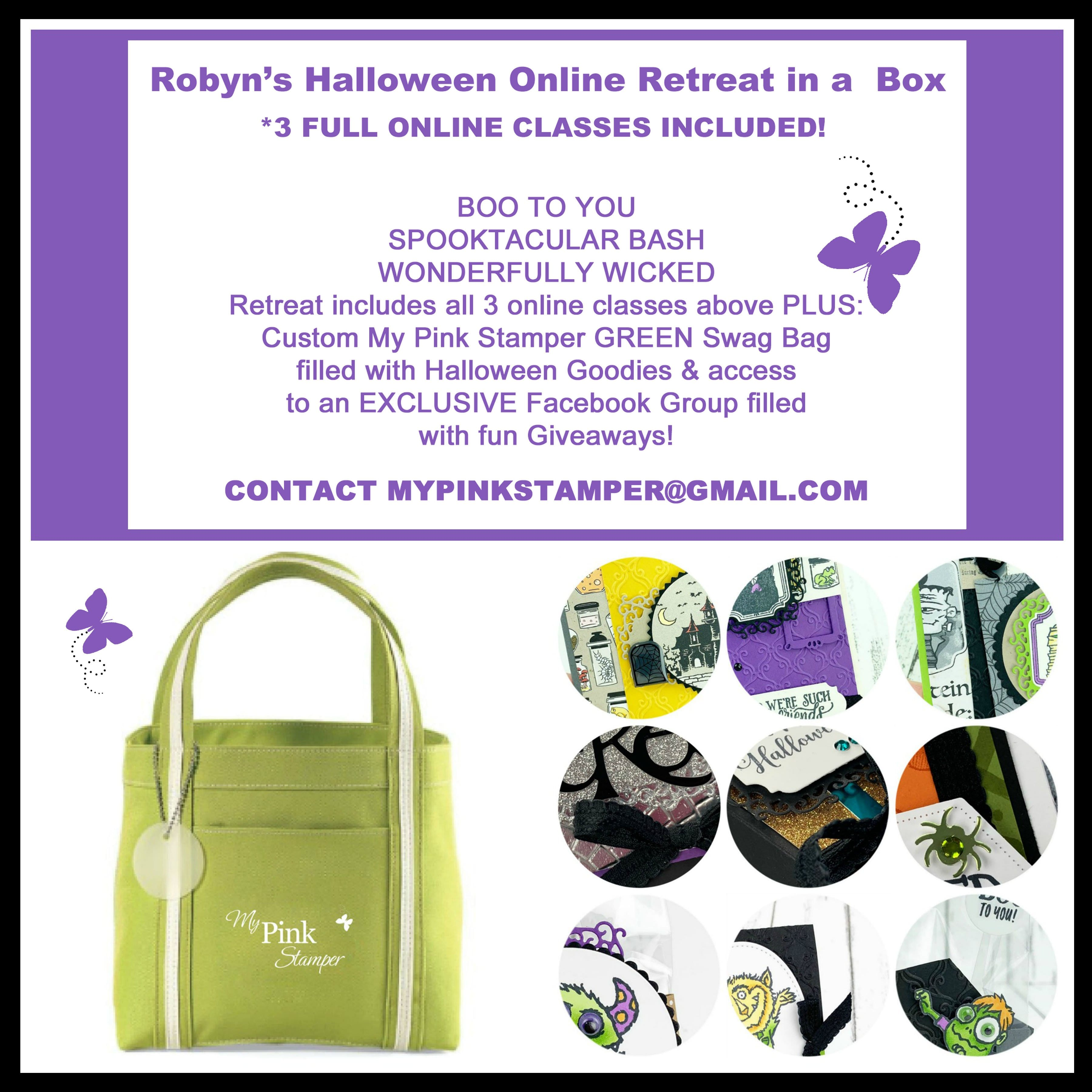 Robyn's Halloween Online Retreat in a Box Preorder!