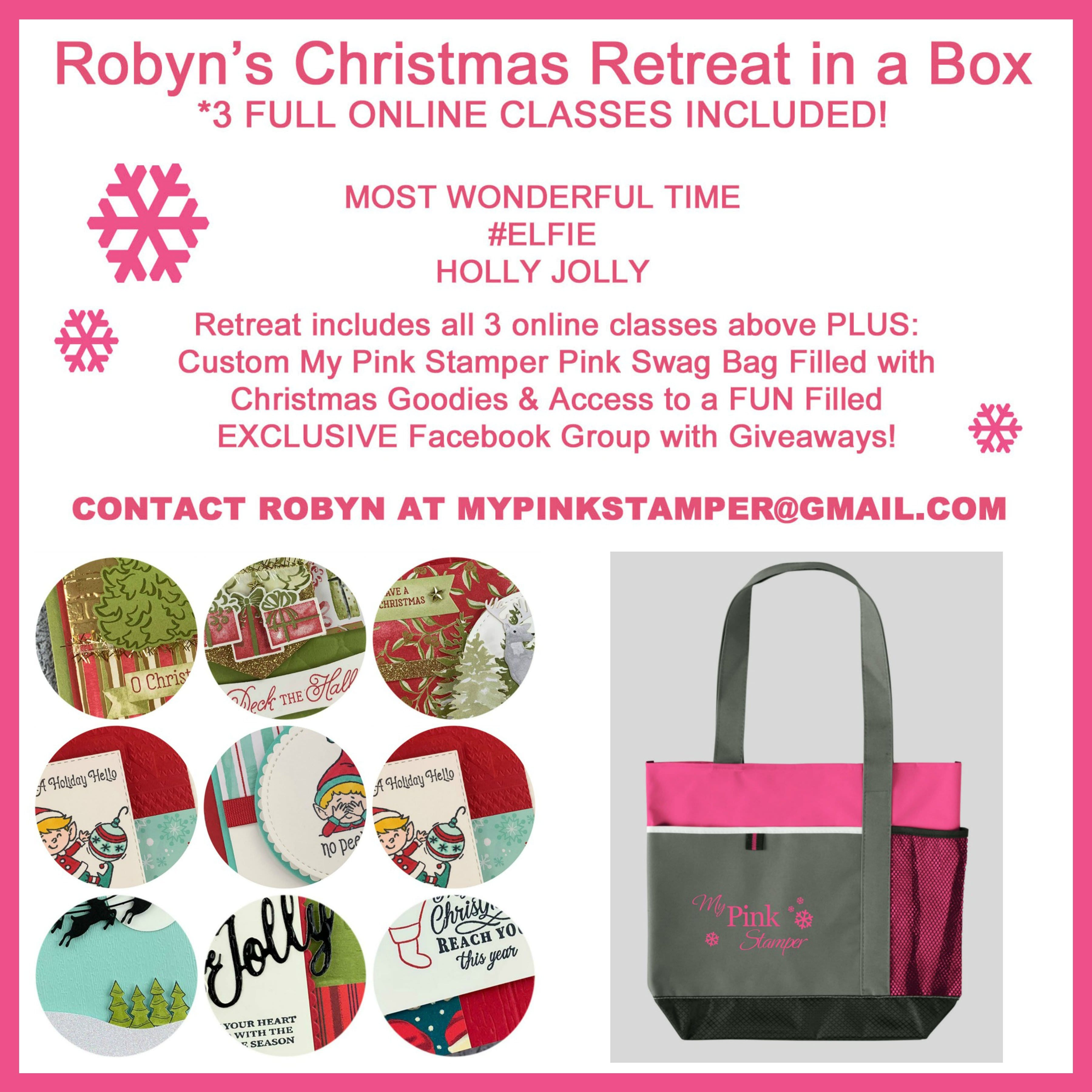 Robyn's Christmas Online Retreat in a Box Preorder now Open & Half Full!!