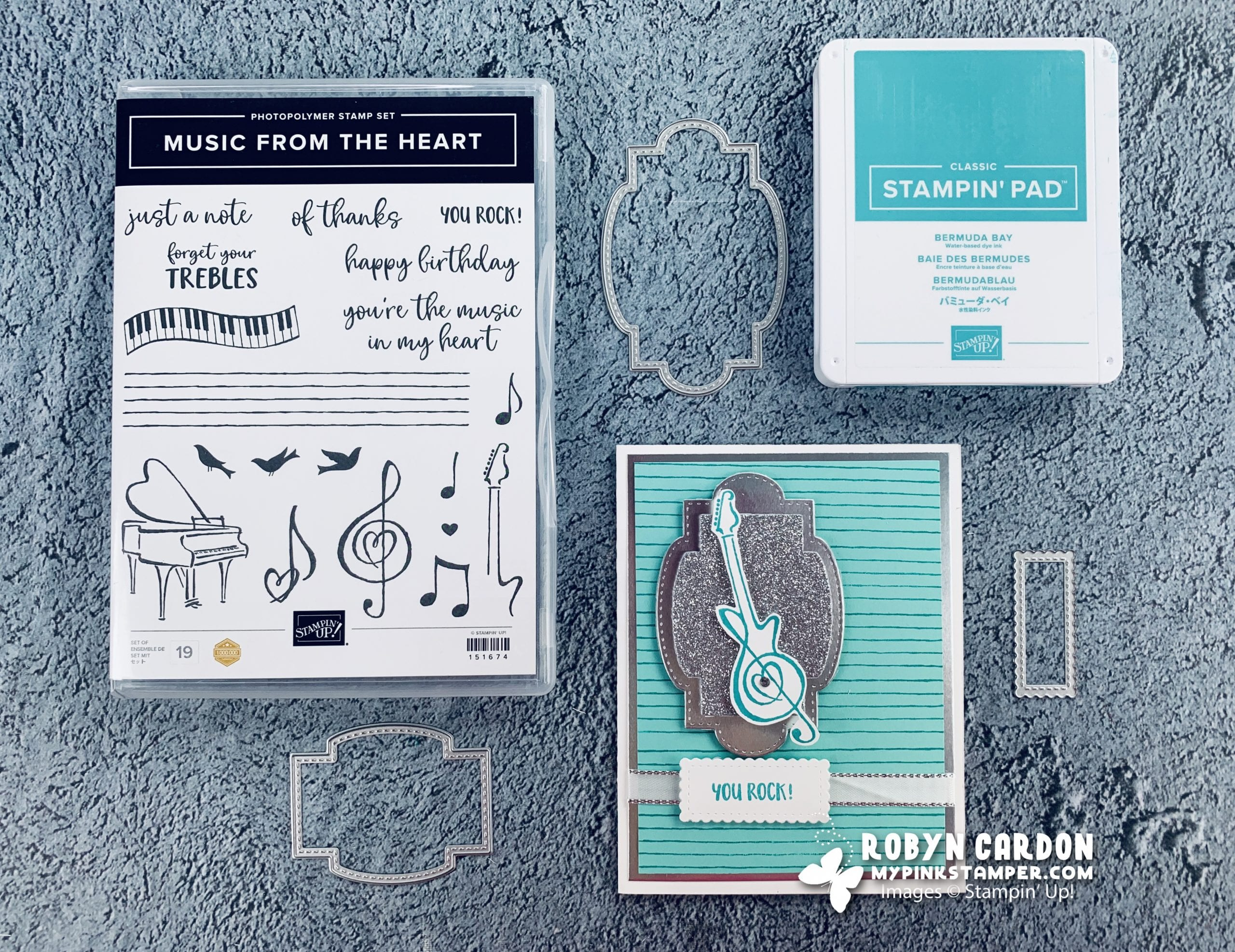 {VIDEO}Episode 751 – Stampin' Up! Music from the Heart Live Youtube Demonstration