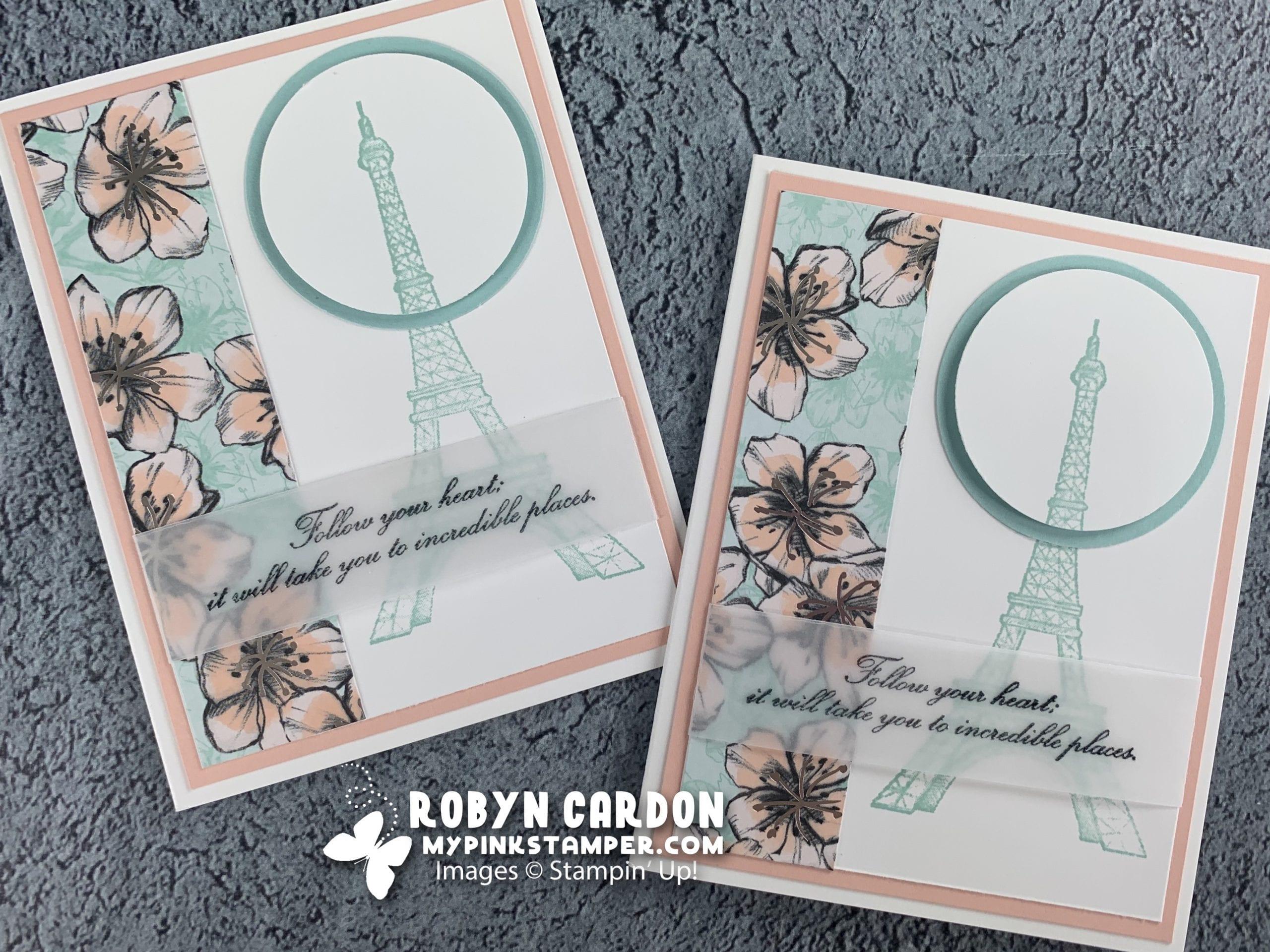 {VIDEO}Episode 753 – Stampin' Up! Parisian Beauty Spotlight Card