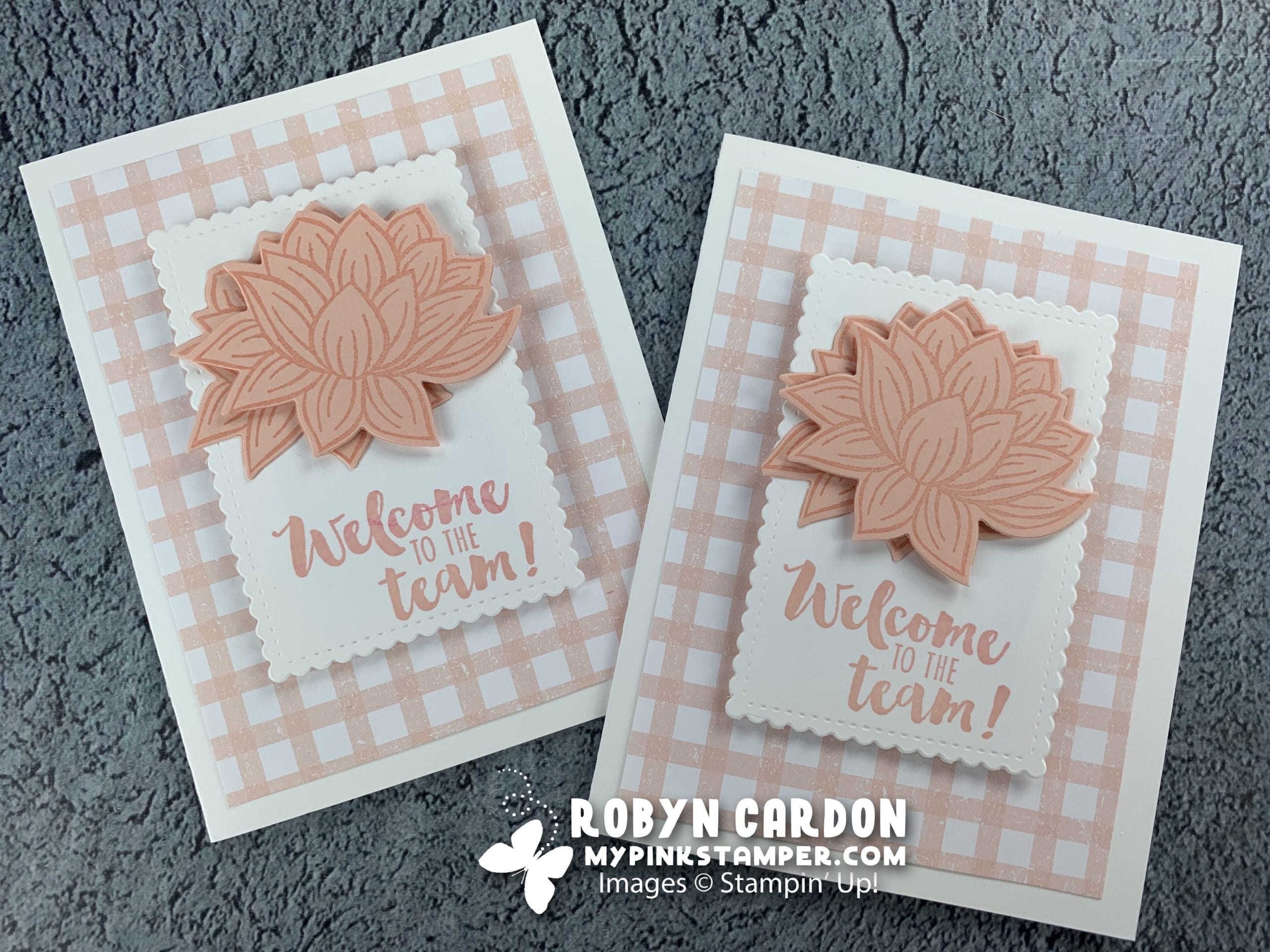 {VIDEO}Episode 754 – Stampin' Up! Lovely Lily Pad Simple Card & Weekly Giveaway