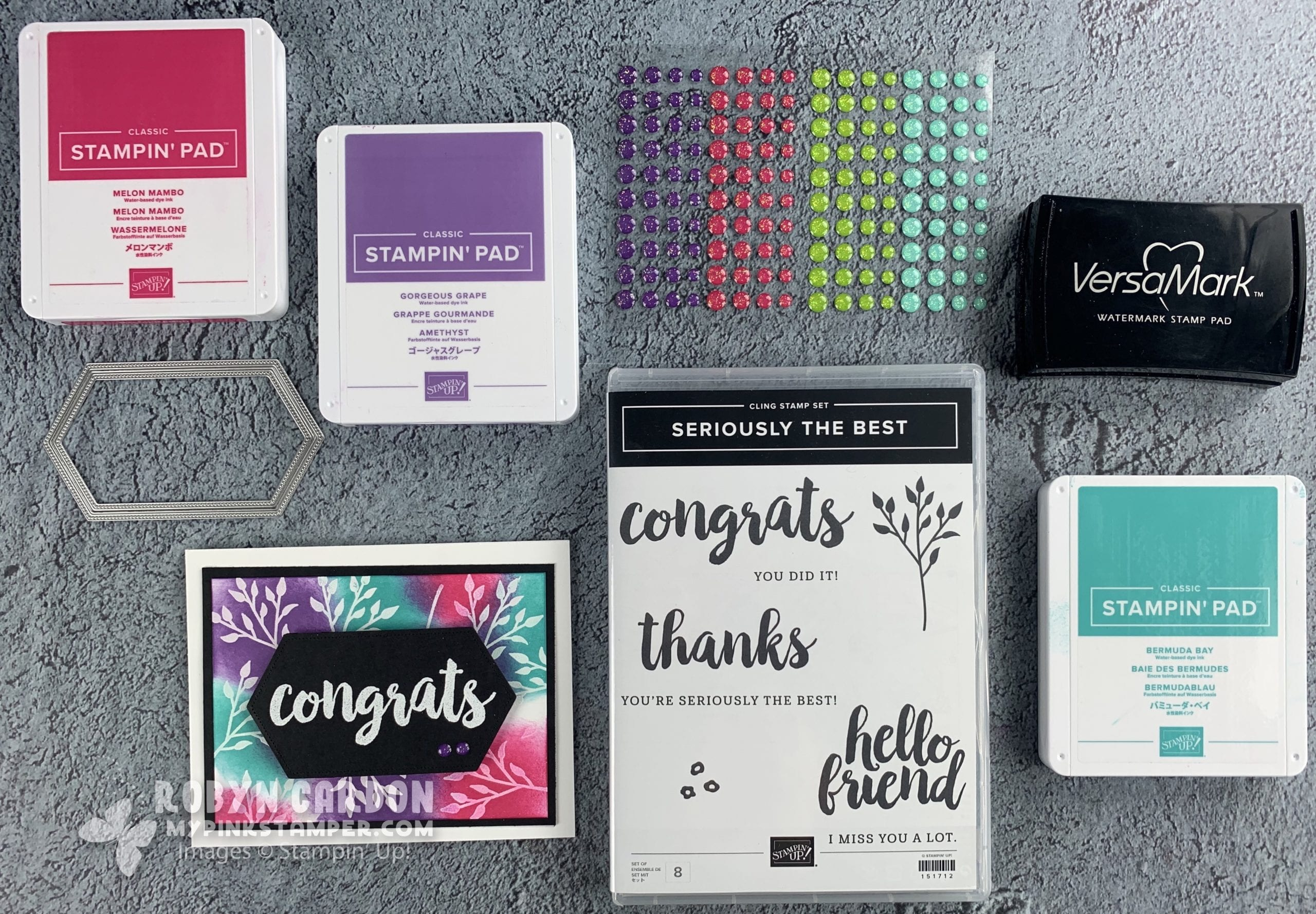 {VIDEO}Episode 756 – Stamping Technique Emboss Resist with Stampin' Up! Seriously the Best Stamp Set