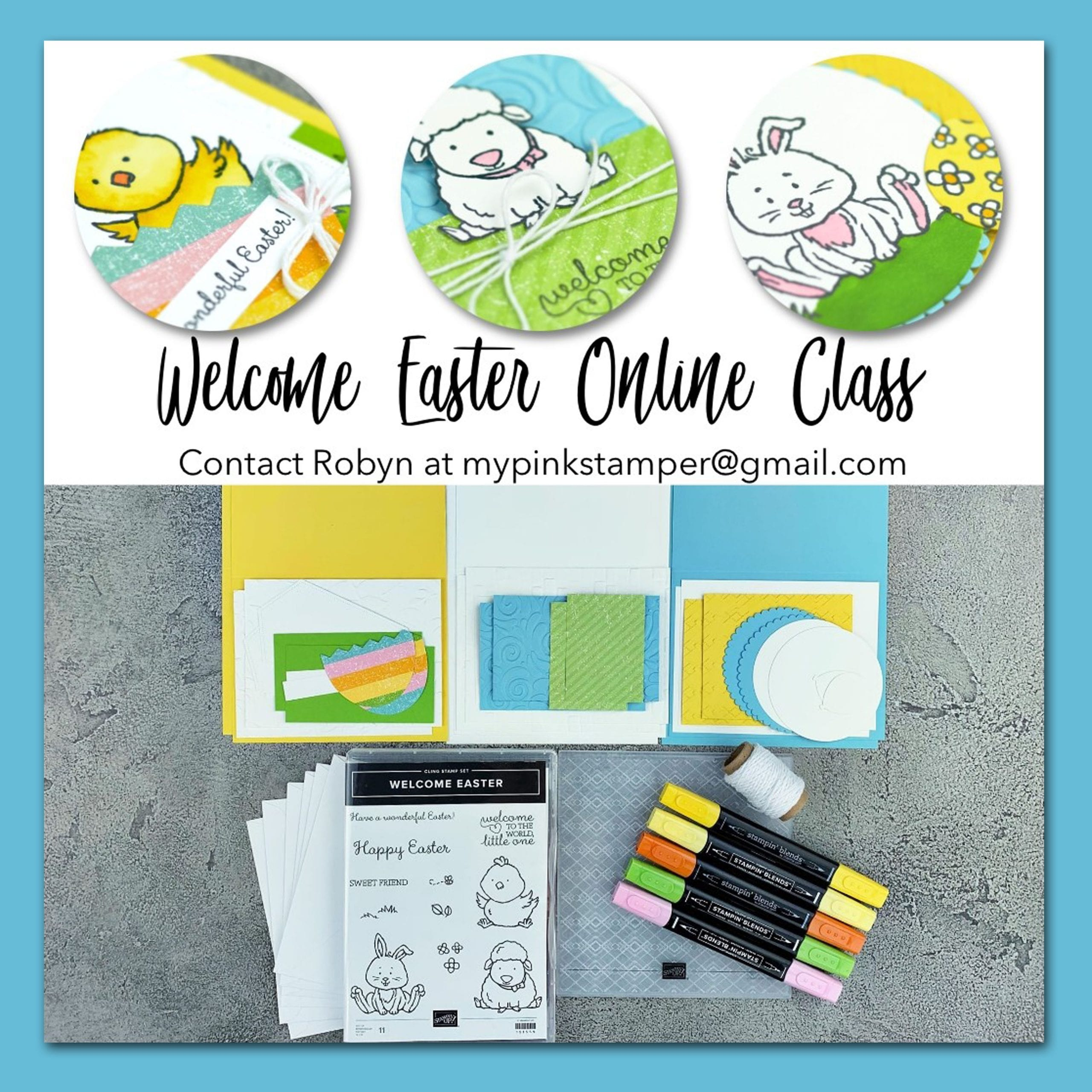Welcome Easter Online Class by Mail Preorder