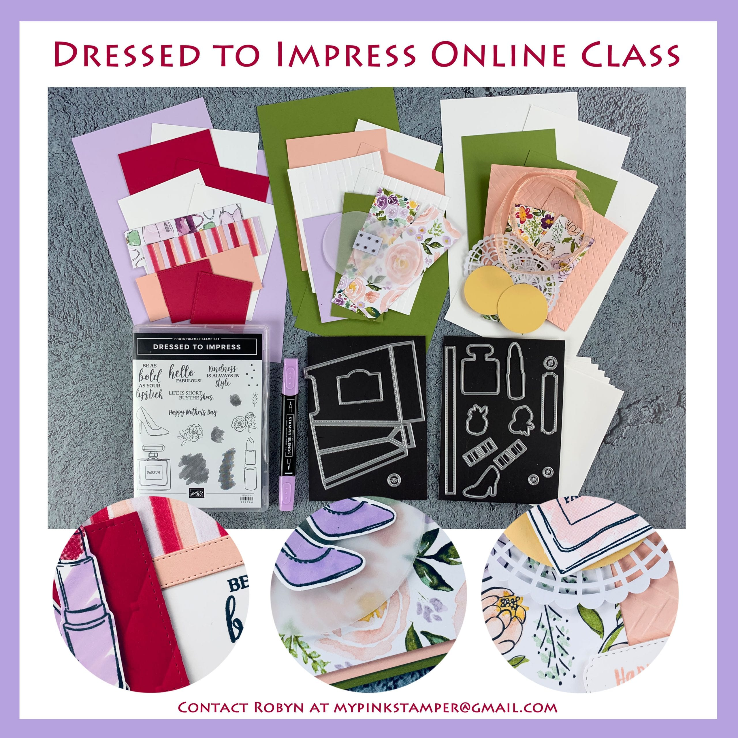 Dressed to Impress Online Class Preorder Now Open!!  3 Ways to Sign Up!