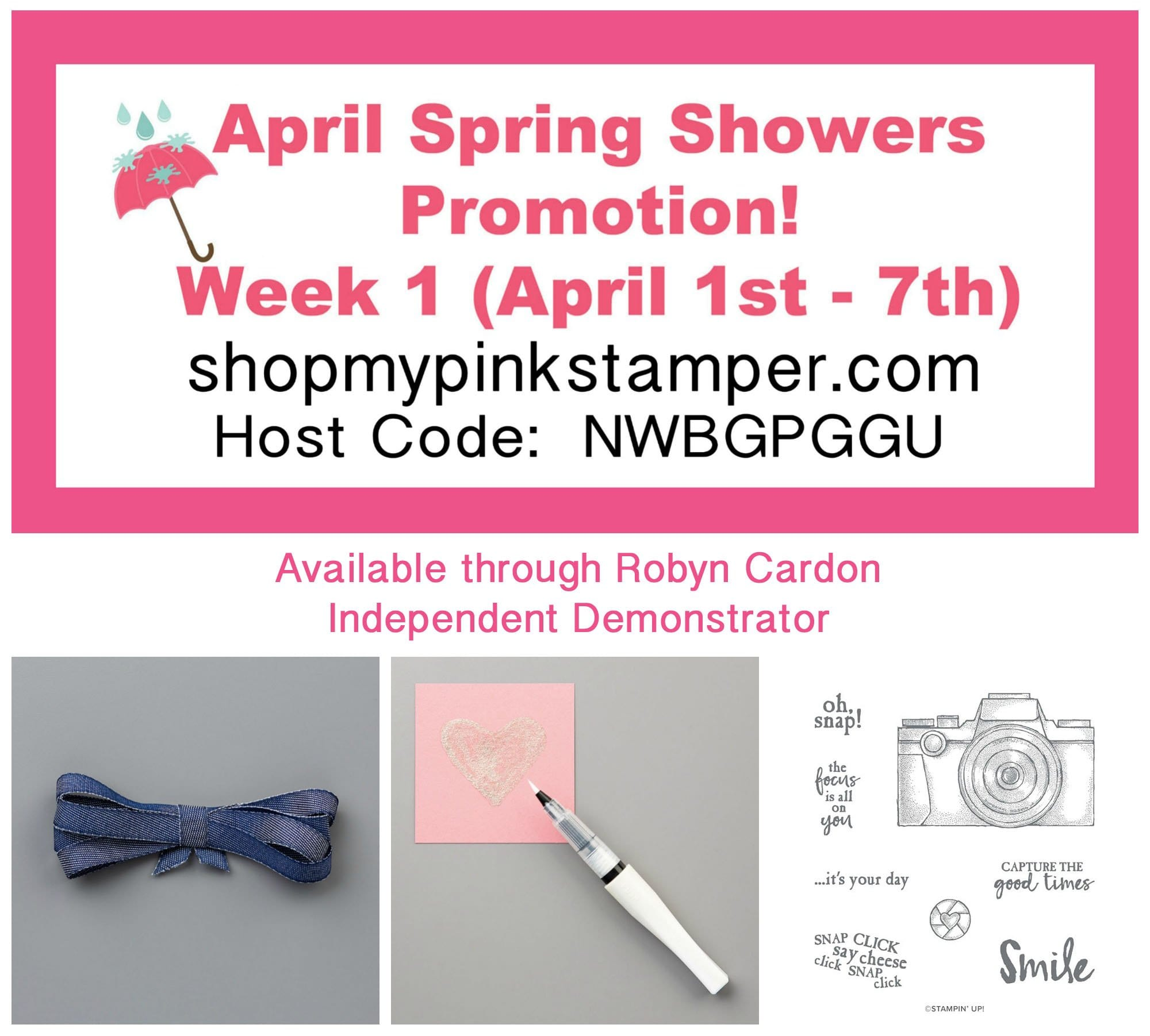 April Spring Showers Promotion Week 1 & NEW Ornate Garden Suite!