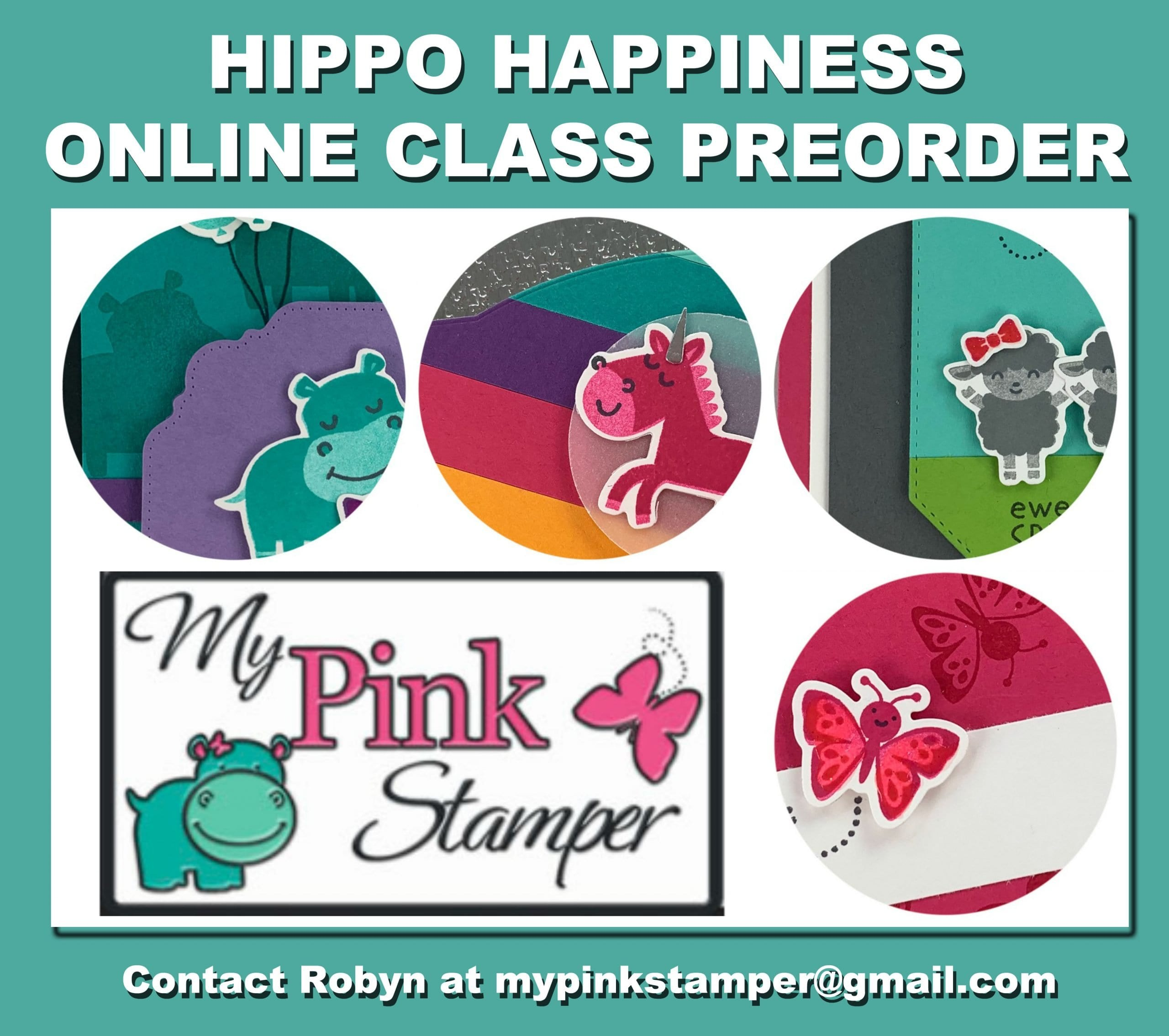 Hippo Happiness Online Class Preorder NOW OPEN!!