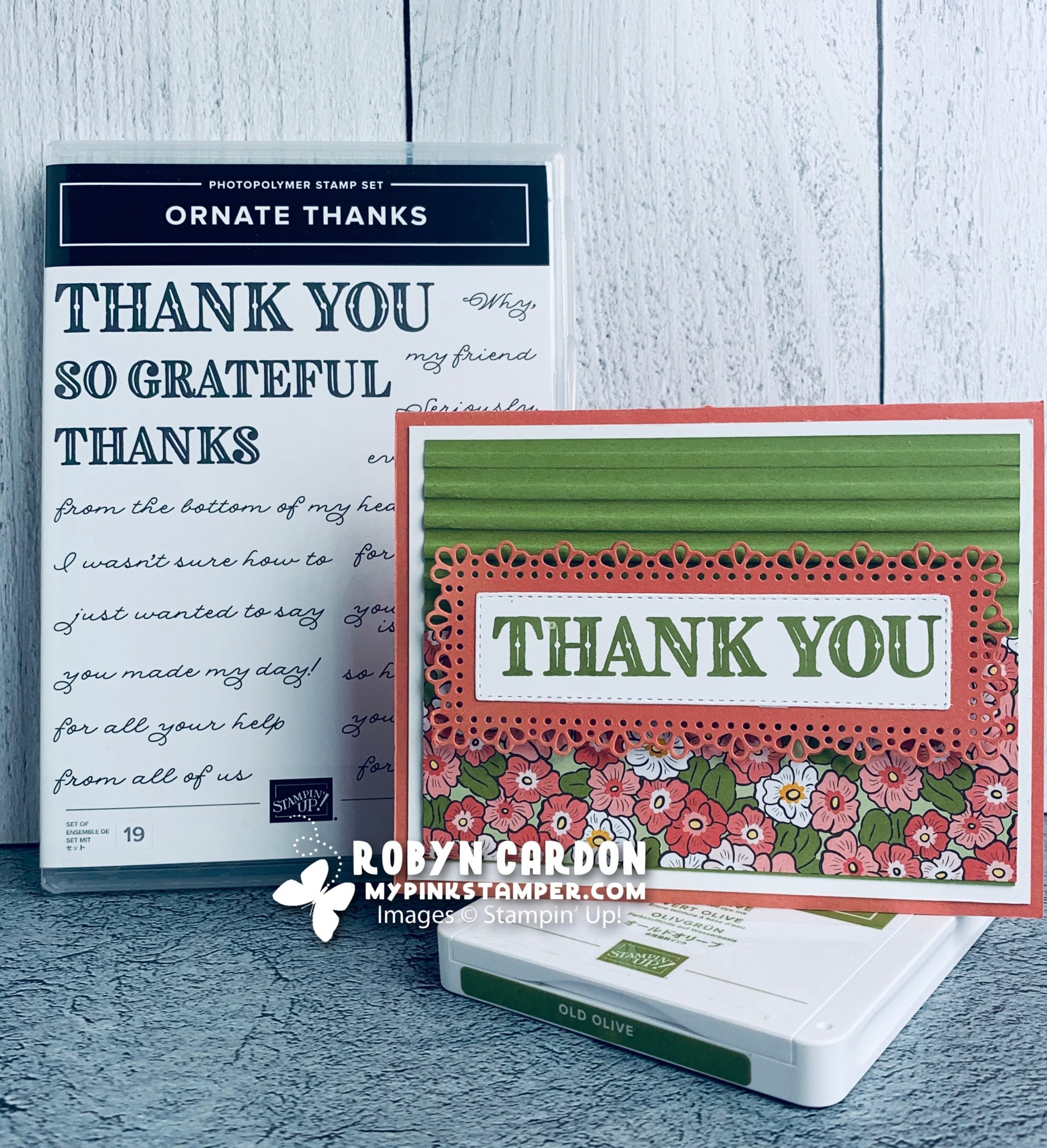 Day 5 – A Card a Day in May – Birthday Cheer Stamp Set & Week 1 Promotion!