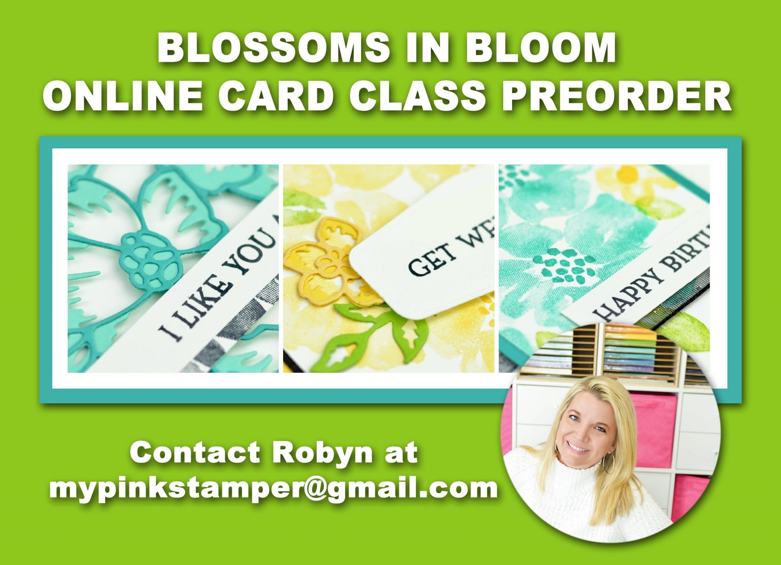 {NEW}Blossoms in Bloom Online Class Preorder Now Open!