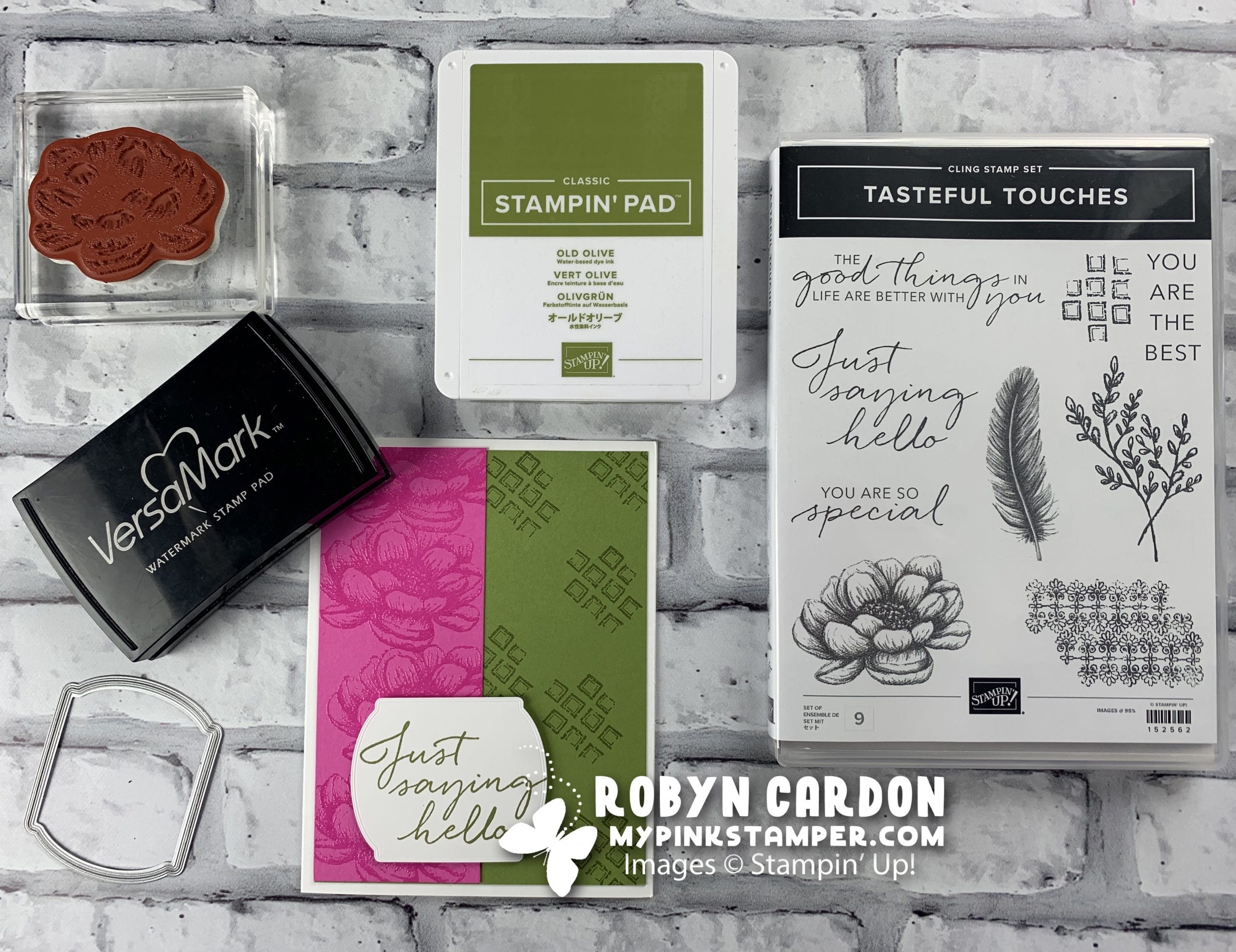 {VIDEO}Episode 781 – Stampin' Up! Tasteful Touches Card & NEW Catalog Release w/ 2 Promotions!!