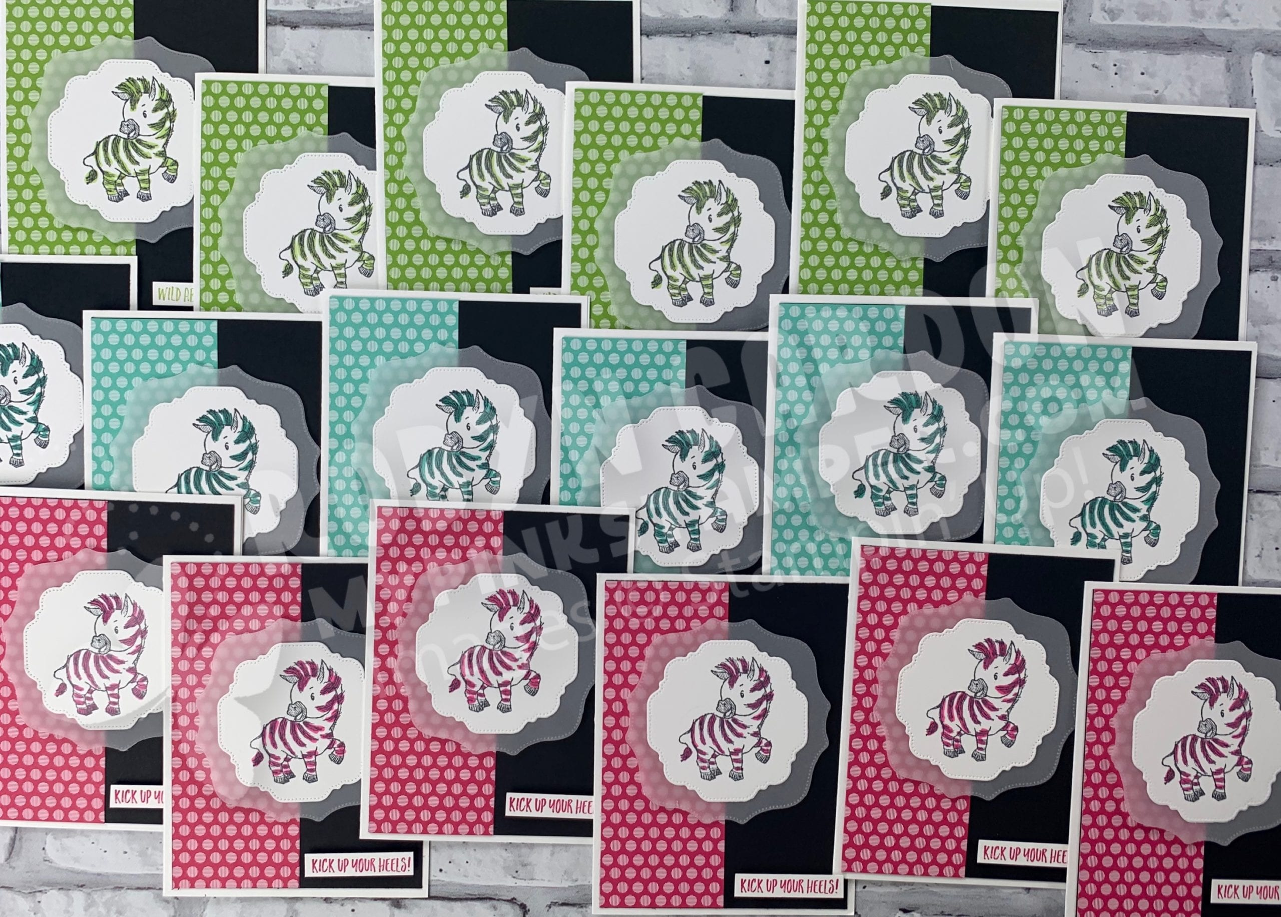 {VIDEO}Episode 783 – Stampin' Up! Zany Zebras Stamp Set & Super Fun Card