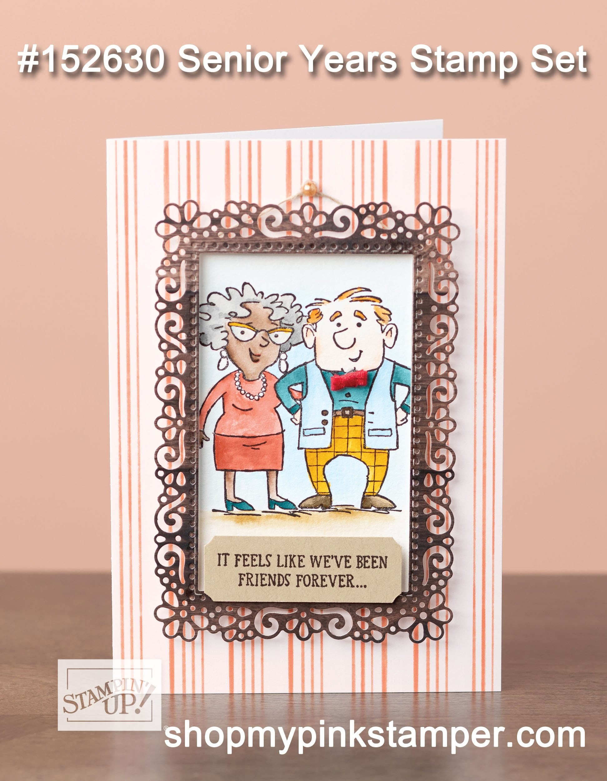 My Pink Candy Giveaway & Stampin' Up! Senior Years Spotlight!