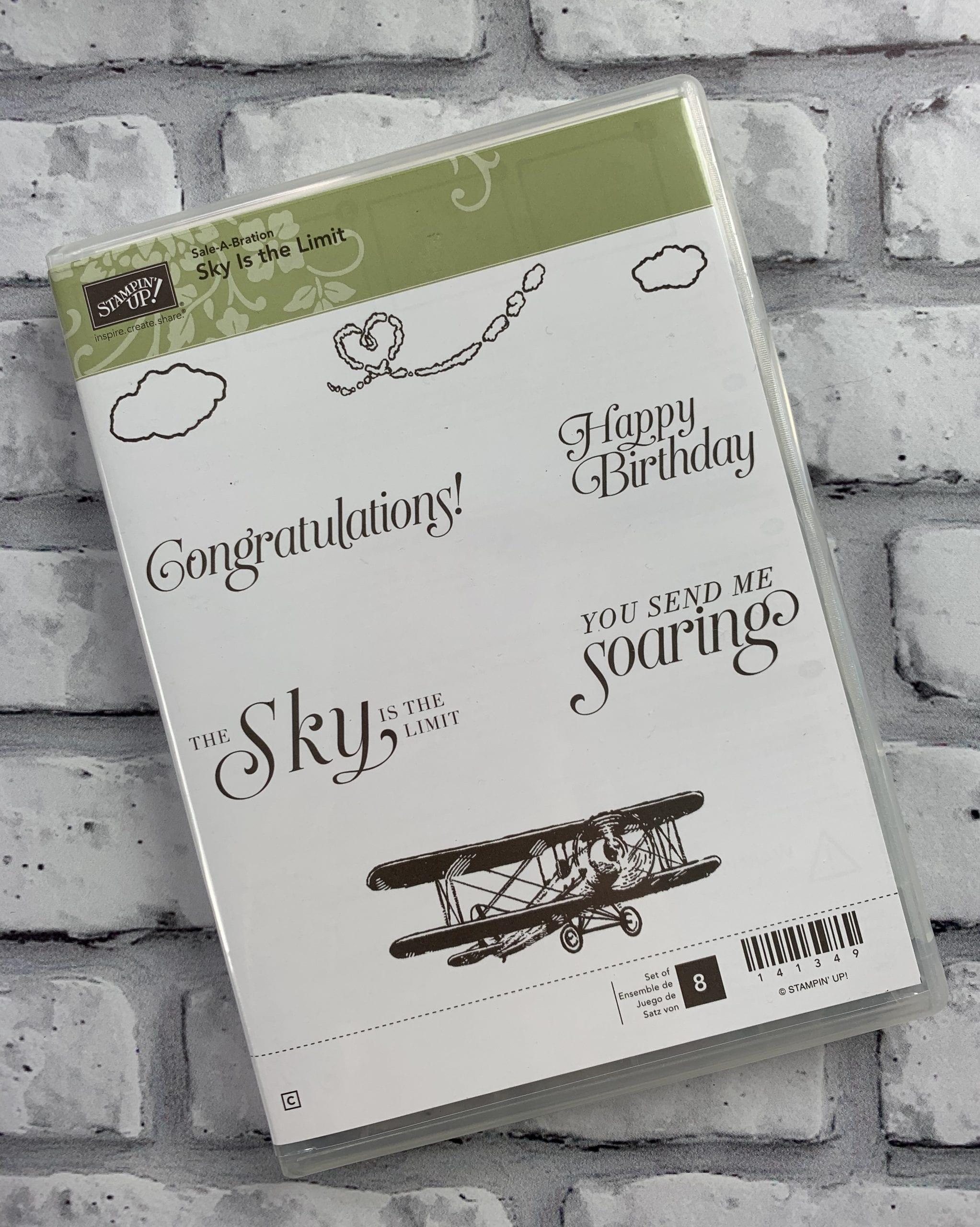 Day 4 – Robyn's July Extravaganza Promotion Week 1 – Stampin' Up! Sky is the Limit Giveaway