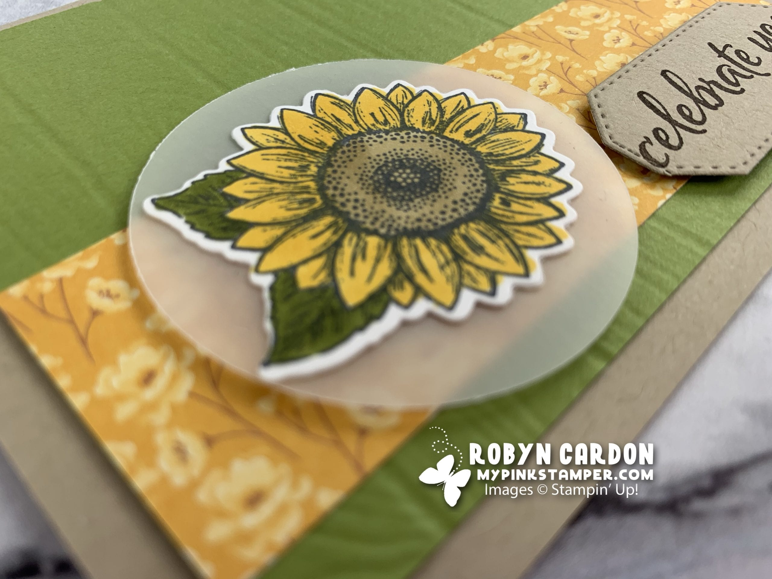 {VIDEO}Stampin' Up! Celebrate Sunflowers Simple Stamping plus Days 6 & 7 of July Promotion!