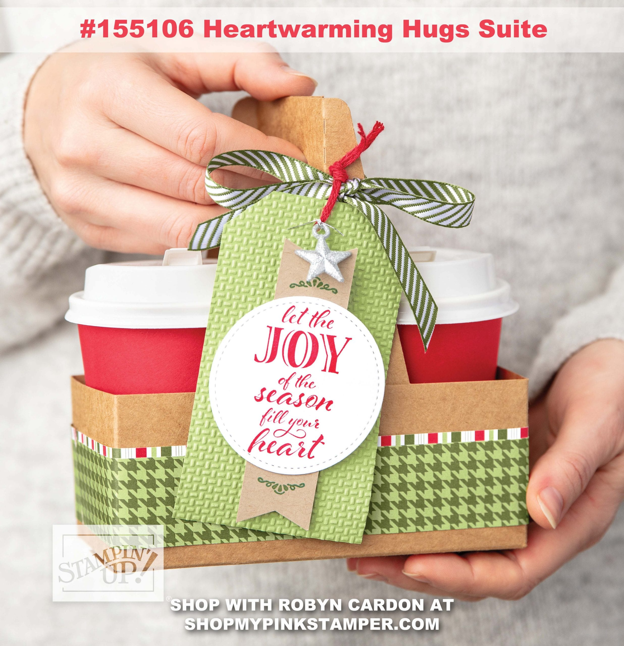 New Stampin' Up! Holiday Catalog is LIVE & Heartwarming Hugs Suite Spotlight