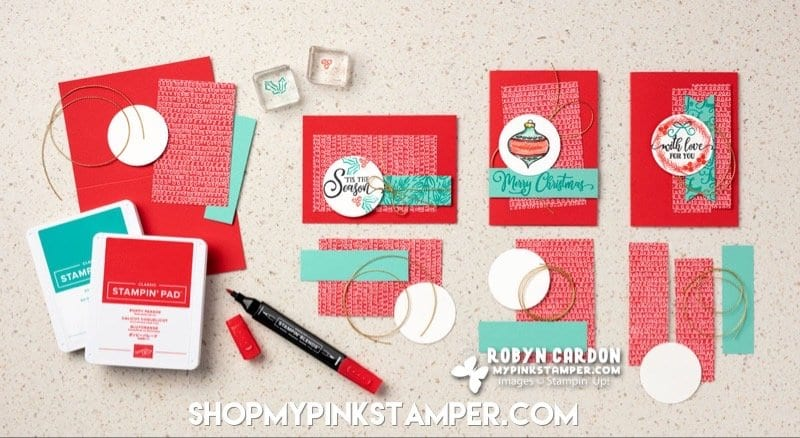 3 Stampin' Up! Tag Buffet Cards YOU Can Create!