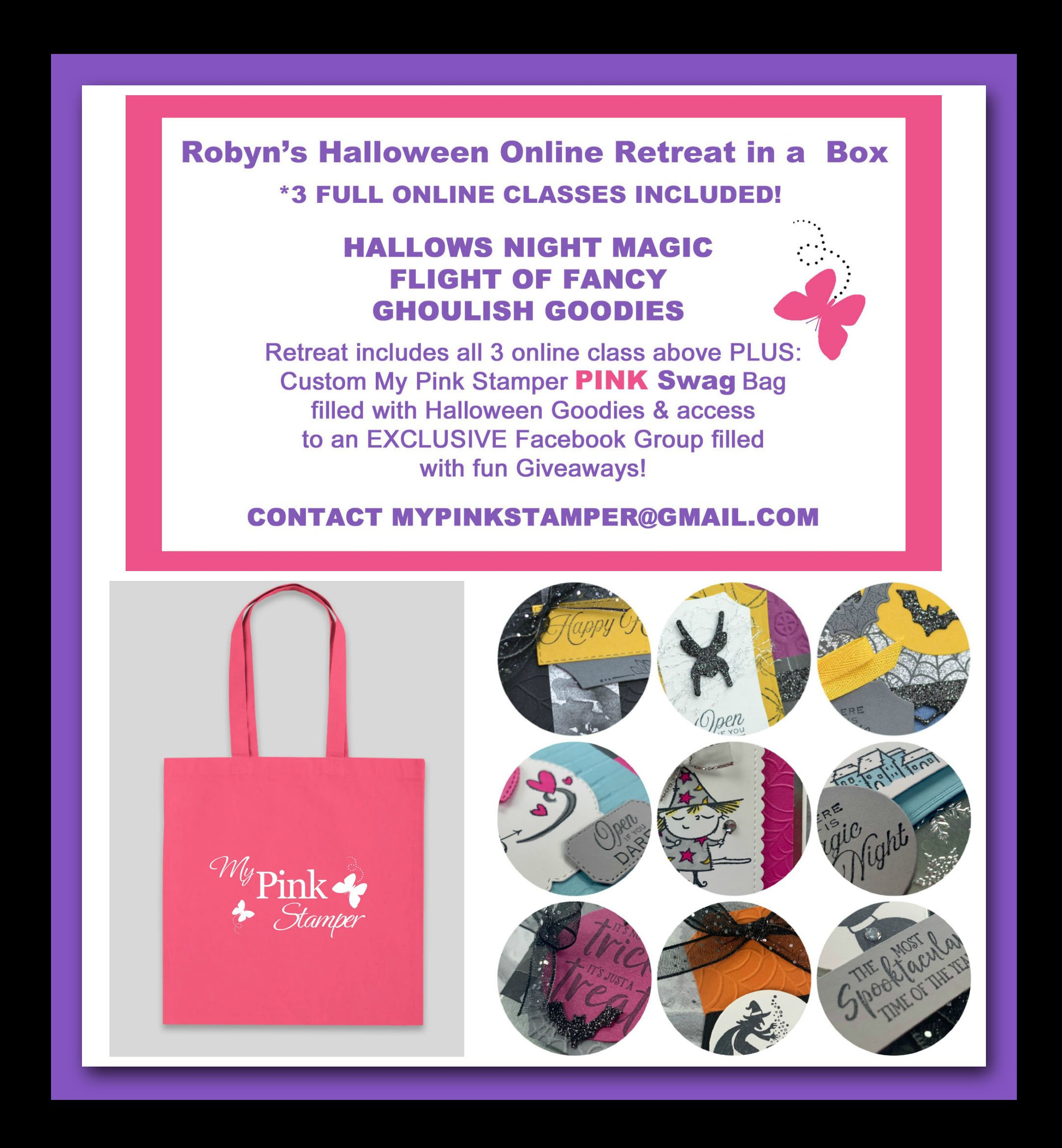 Halloween Online Retreat in a Box Preorder Now Open!
