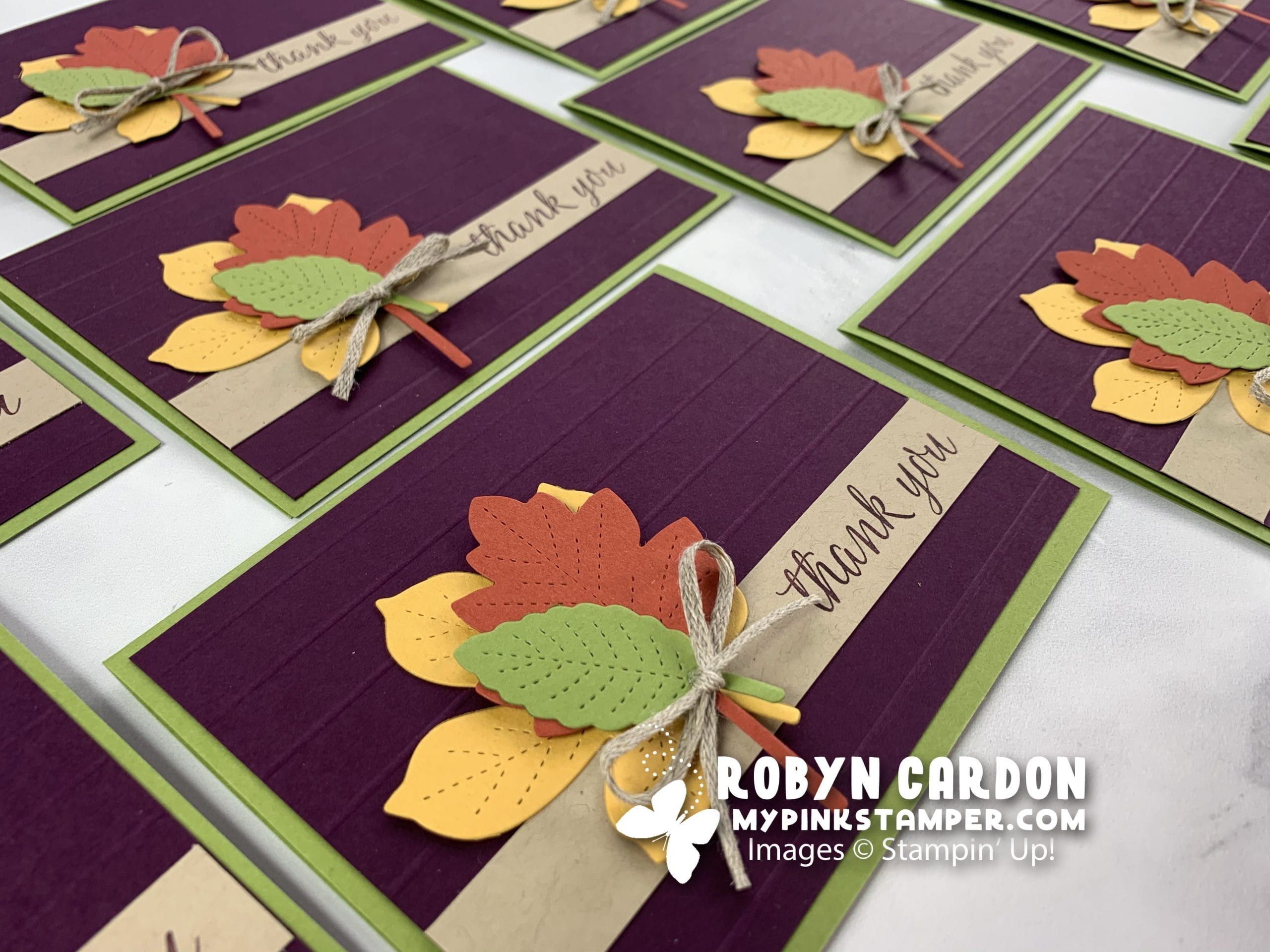 {VIDEO}Episode 792 – Stampin' Up! Love of Leaves Fall Card Tutorial!