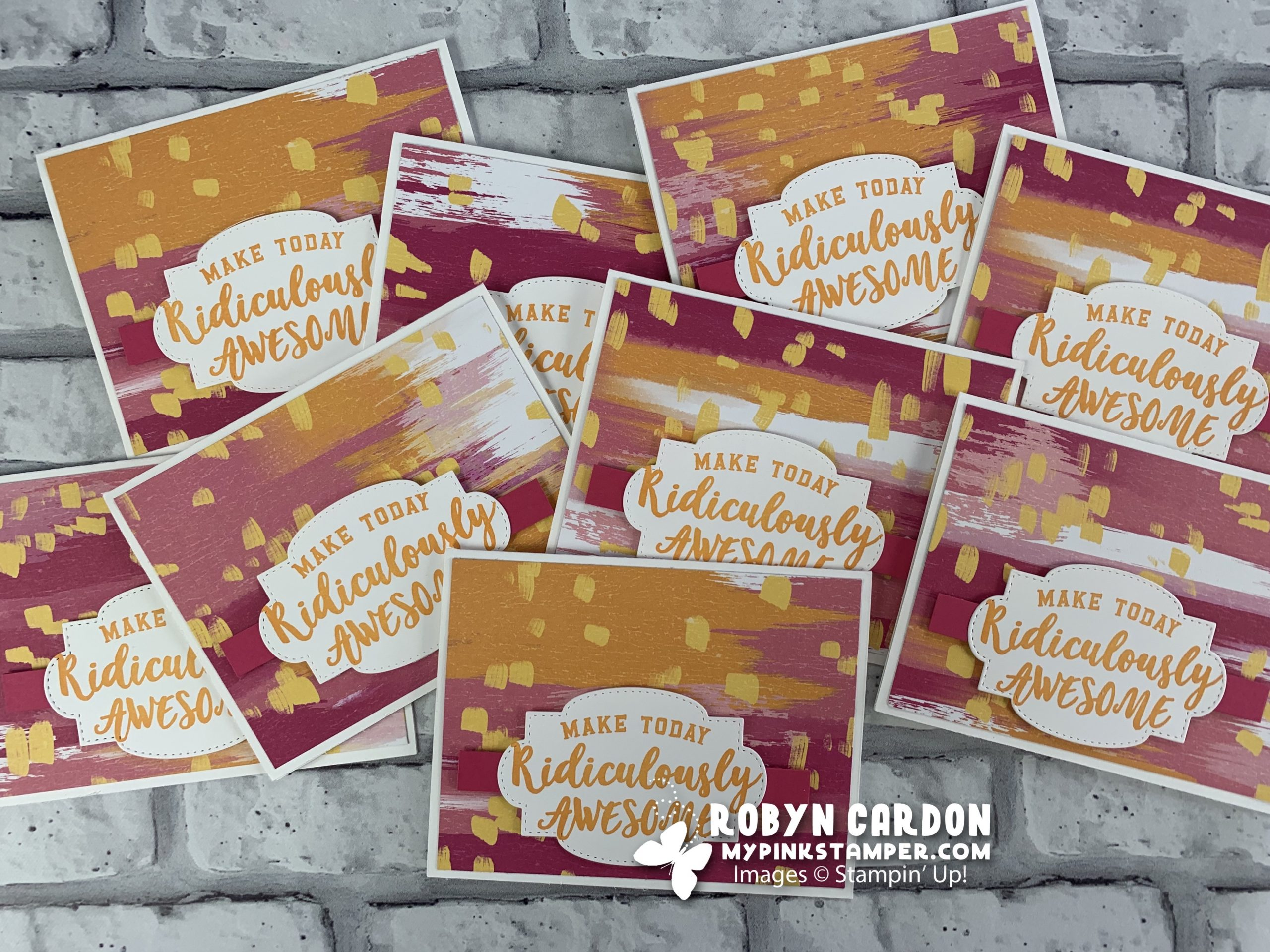 Stampin' Up! Ridiculously Awesome Card & World Card Making Day Giveaway!