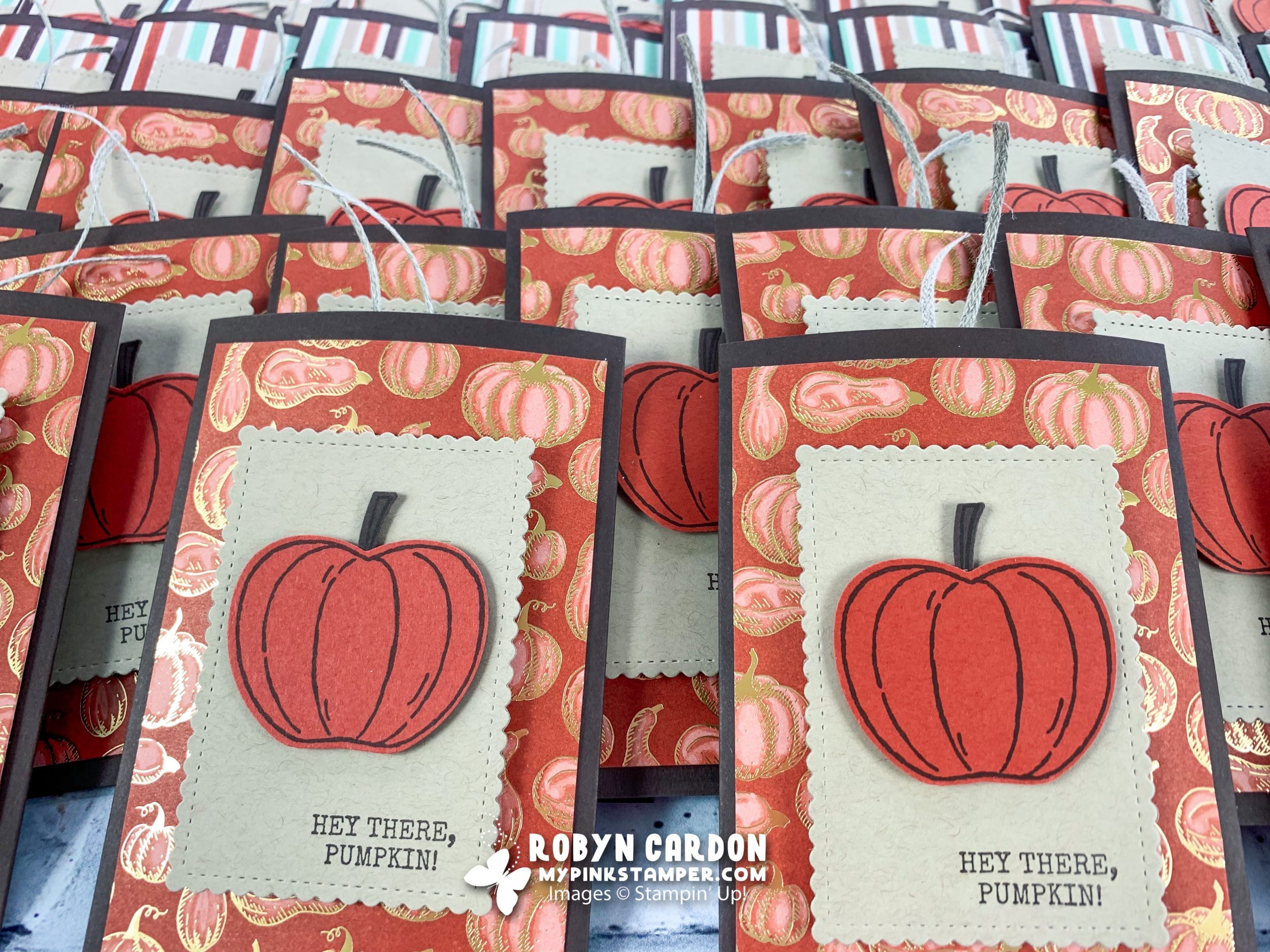 {NEW VIDEO}Make an Apple Cider Slider Tutorial with Stampin' Up! Harvest Hellos! (Episode 795