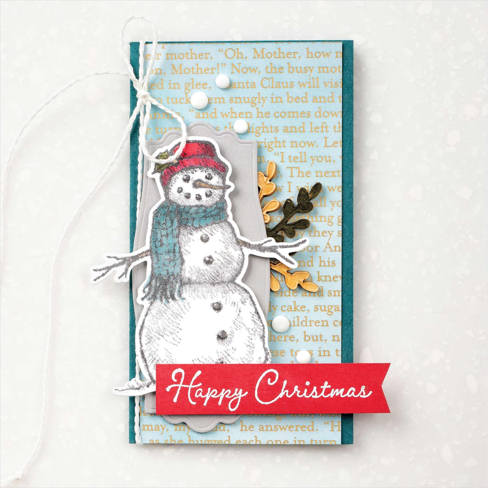 Product Spotlight – Stampin' Up! Snow Wonder Stamp Set