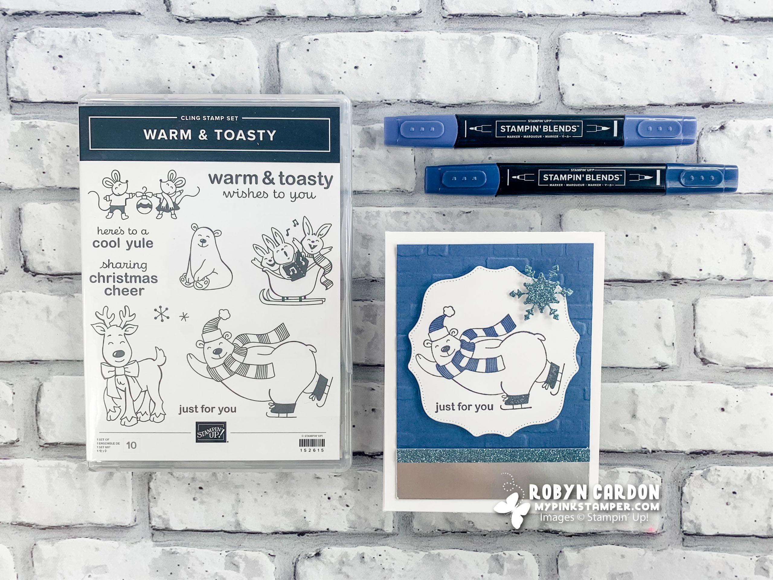 {VIDEO}Episode 798 – Stampin' Up! Warm & Toasty Polar Bear Card