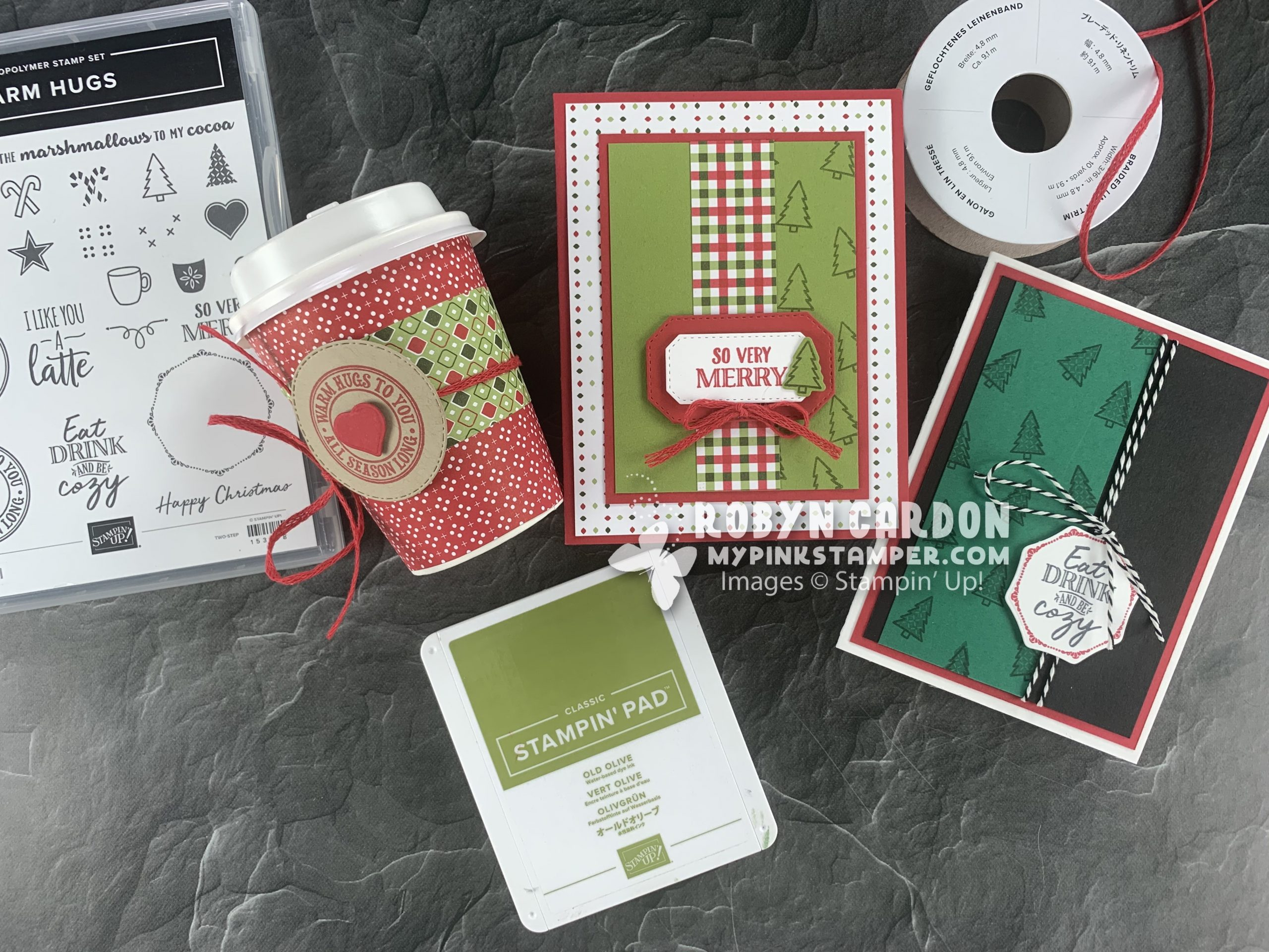 {VIDEO}3 Projects using Stampin' Up! Warm Hugs Stamp Set!
