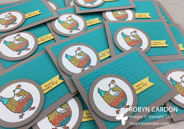 Hey, Chick Stamp Set